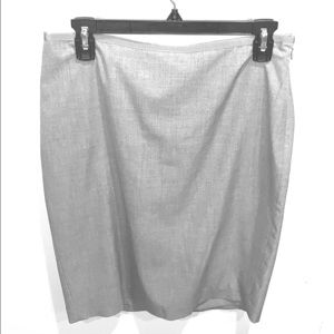 Gray pencil skirt from The Limited size 6